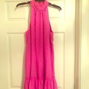 Trina Turk hot pink dress